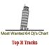 Most Wanted 64 Dj's Chart Top 31 Tracks – ElectronicFresh.com